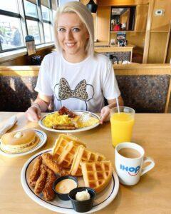 IHOP breakfast menu