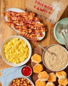 Bob Evans menu prices breakfast and dinner